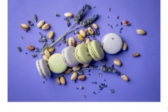 Lavender Macarons - Paul Dodd (Commended - Open A Grade - 08 Apr 2021 PRNT)