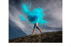Blue Bomb - Kadri Elcoat (Highly Commended - Open A Grade - 10 Sep 2020 PDI)