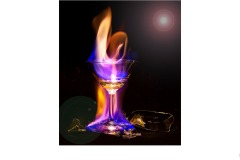 Flaming Glass - Ian Bock (Commended - Open A Grade - 13 May 2021 PRNT)