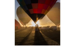 Hot air balloons at sunrise - Susan Brunialti (Commended - Open A Grade - Feb 2019 PDI)