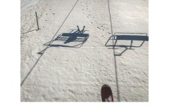 Falls Creek Ski Lifts - Graeme Diggle (Commended - Set Subject - Shadows - Feb 2019 PDI)