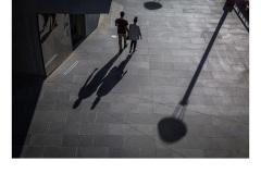 Southbank Walk - Brian Seddon (Commended - Set Subject - Shadows - Feb 2019 PDI)