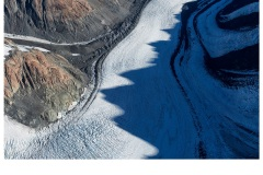Murchison Glacier Shadows - Charles Kosina (Highly Commended - Set Subject - Shadows - Feb 2019 PDI)