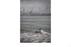 Braving the winter water - John Godfrey (Best - Set Subj B Grade - 22 Oct 2020 PDI)