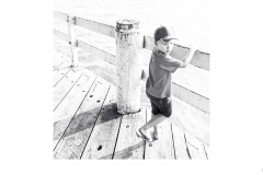 Boy on the pier - Charles Wyatt (Commended - Set Subj B Grade - 23 Feb 2020 PDI)