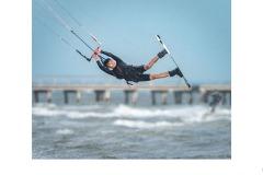 Kiteboarding at Altona - Graeme Diggle (Commended - Set Subj A Grade - 25 Mar 2021 PDI)