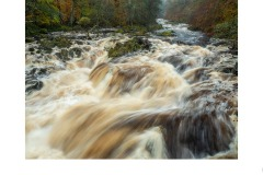 Falls of Feugh after rain, Banchory, Scotland. - Lynette McKelvie (Commended - Open B Grade - 9 Apr 2020 PDI)