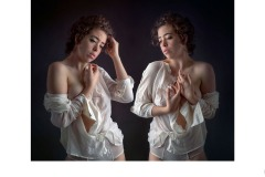 The White Blouse - Jane Clancy (Highly Commended - Open A Grade - Aug 2019 PDI)