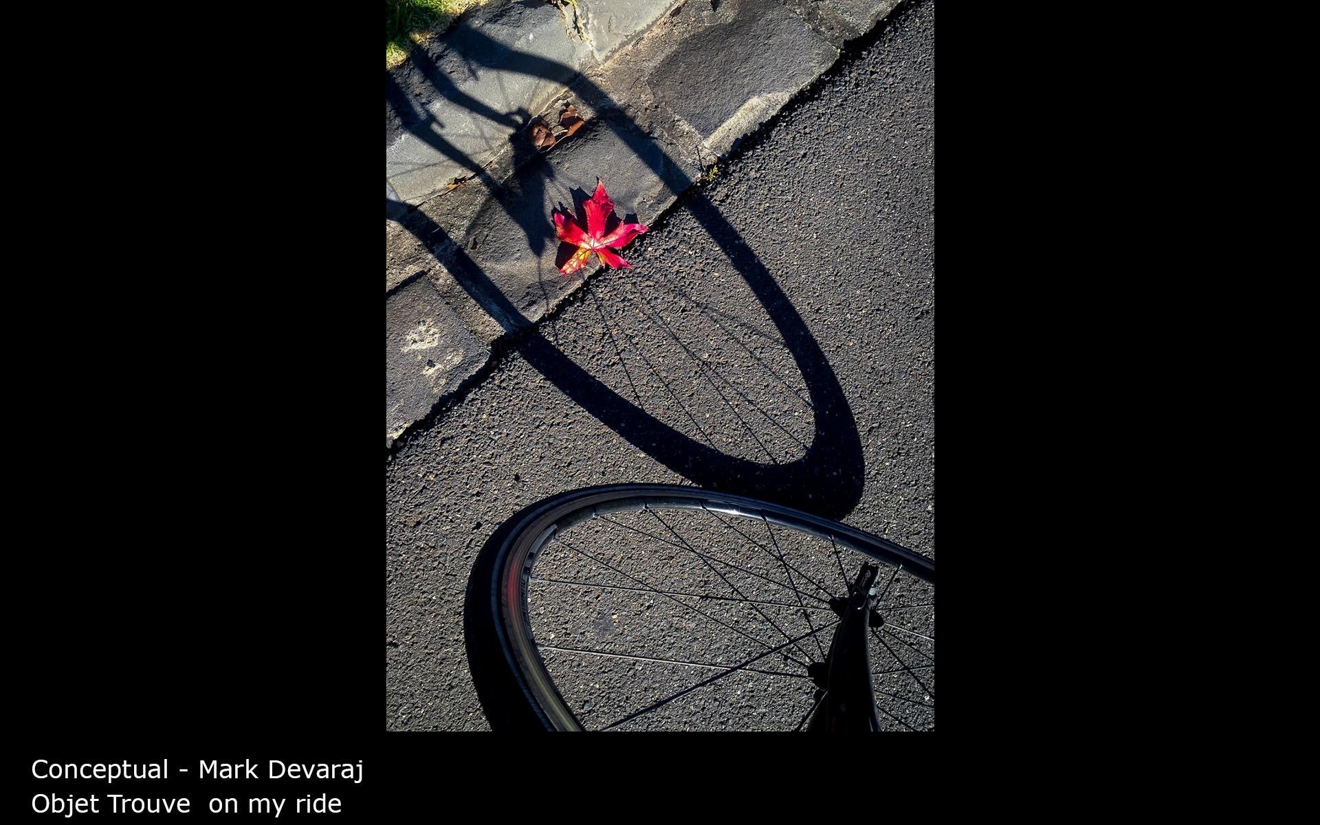 Objet Trouve  on my ride - Mark Devaraj