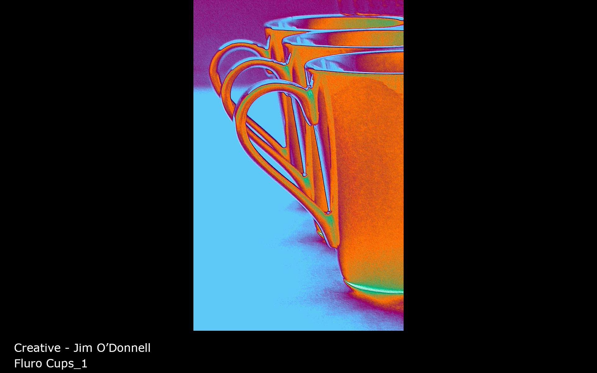 Fluro Cups_1 - Jim O'Donnell