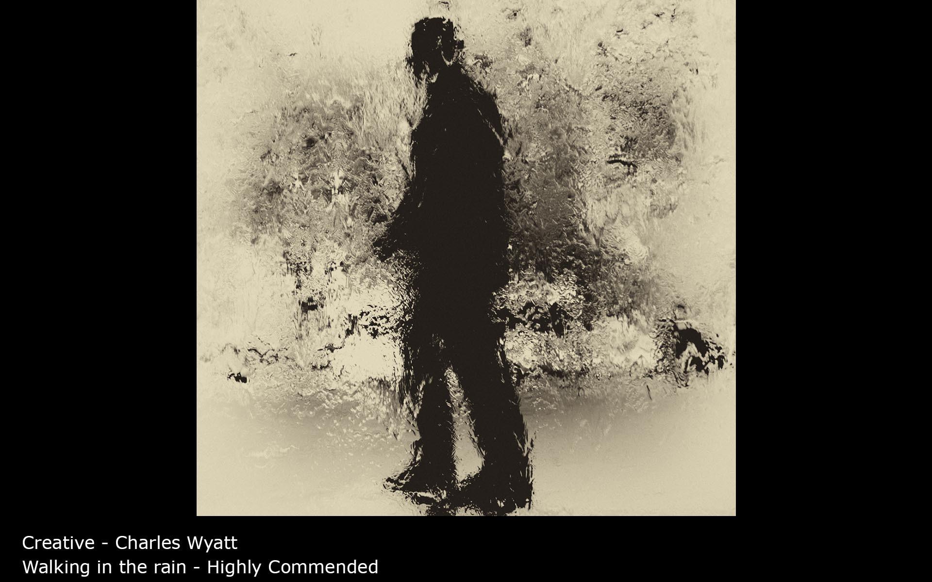 Walking in the rain - Charles Wyatt