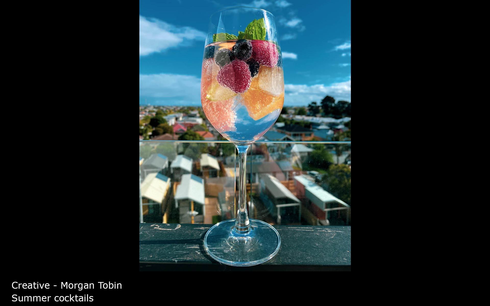 Summer cocktails - Morgan Tobin