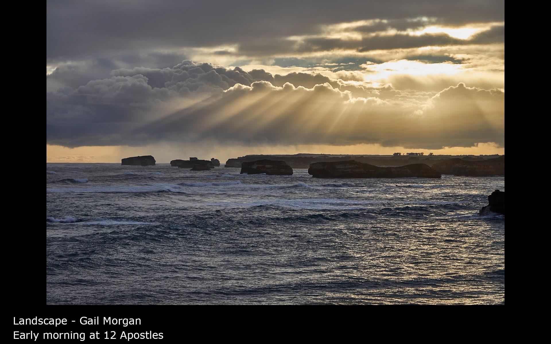 Early morning at 12 Apostles - Gail Morgan