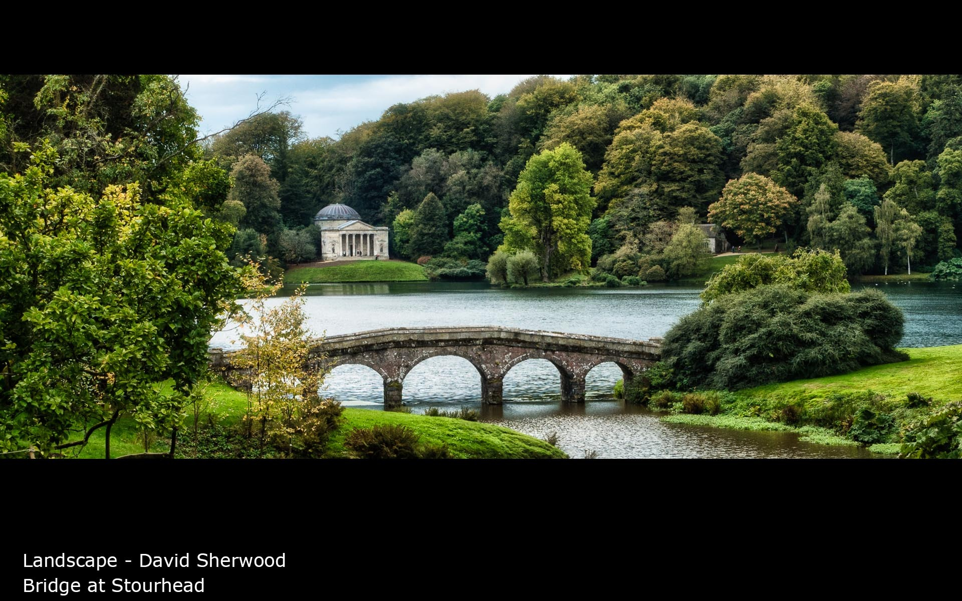 Bridge at Stourhead - David Sherwood