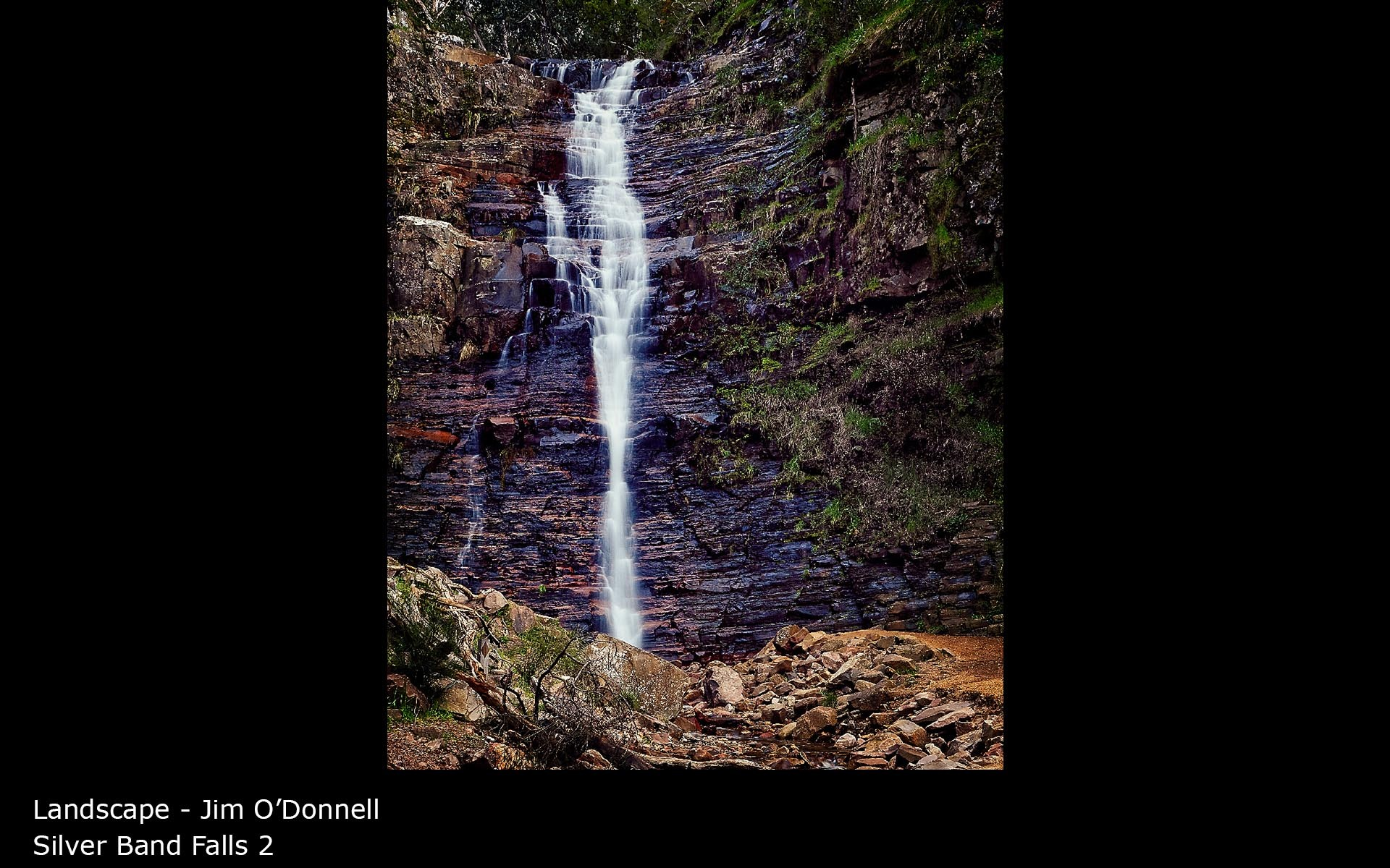Silver Band Falls 2 - Jim O'Donnell