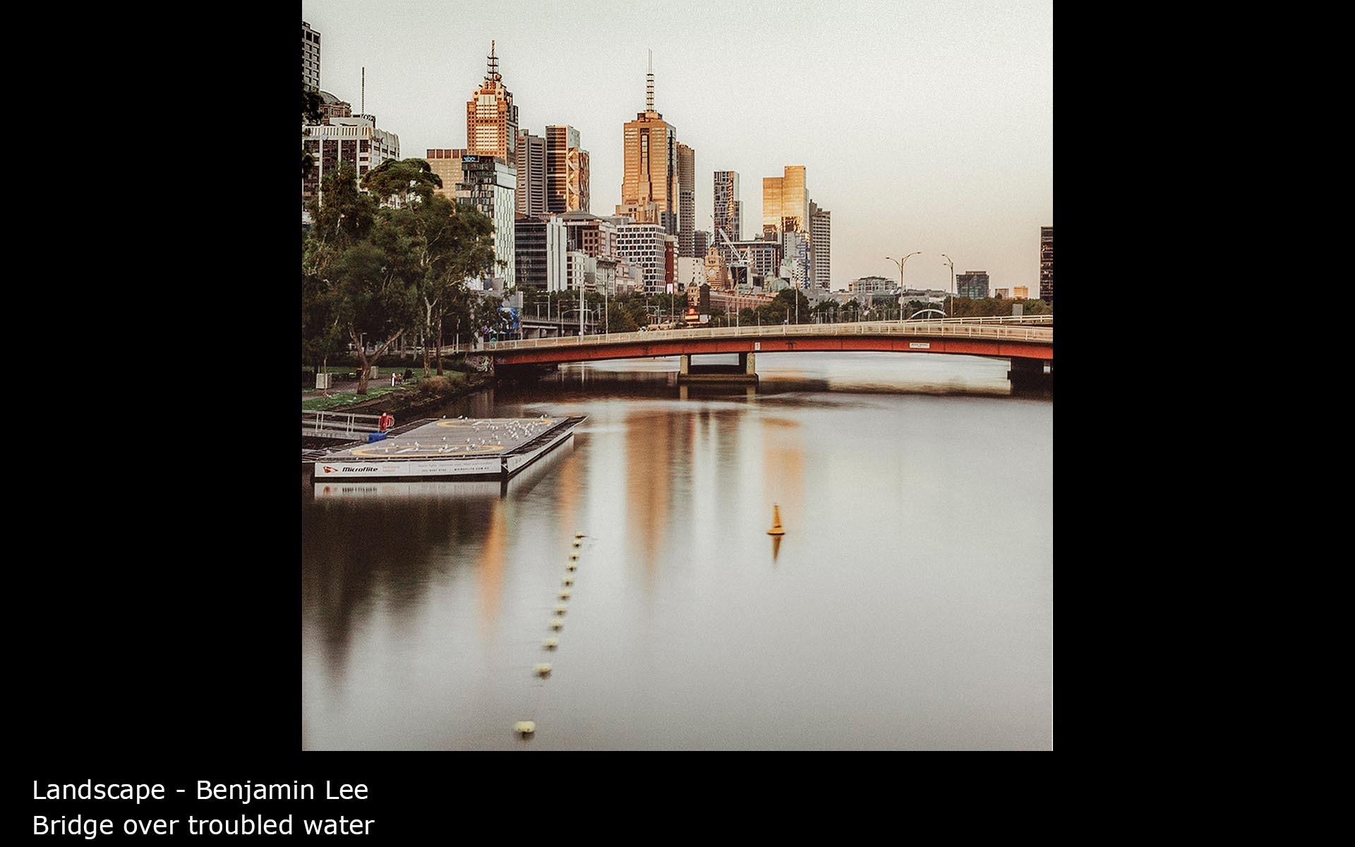 Bridge over troubled water - Benjamin Lee
