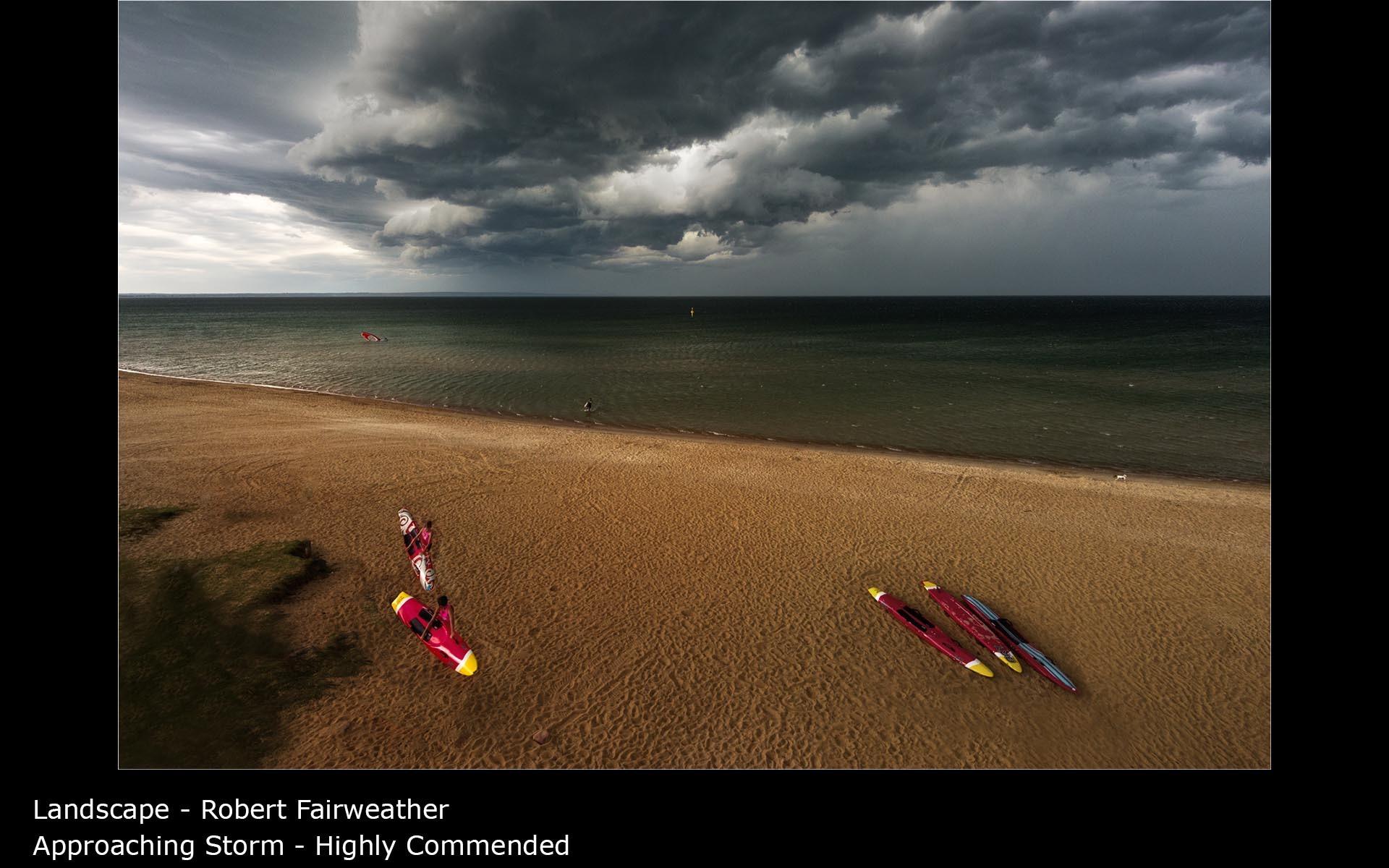 Approaching Storm - Robert Fairweather