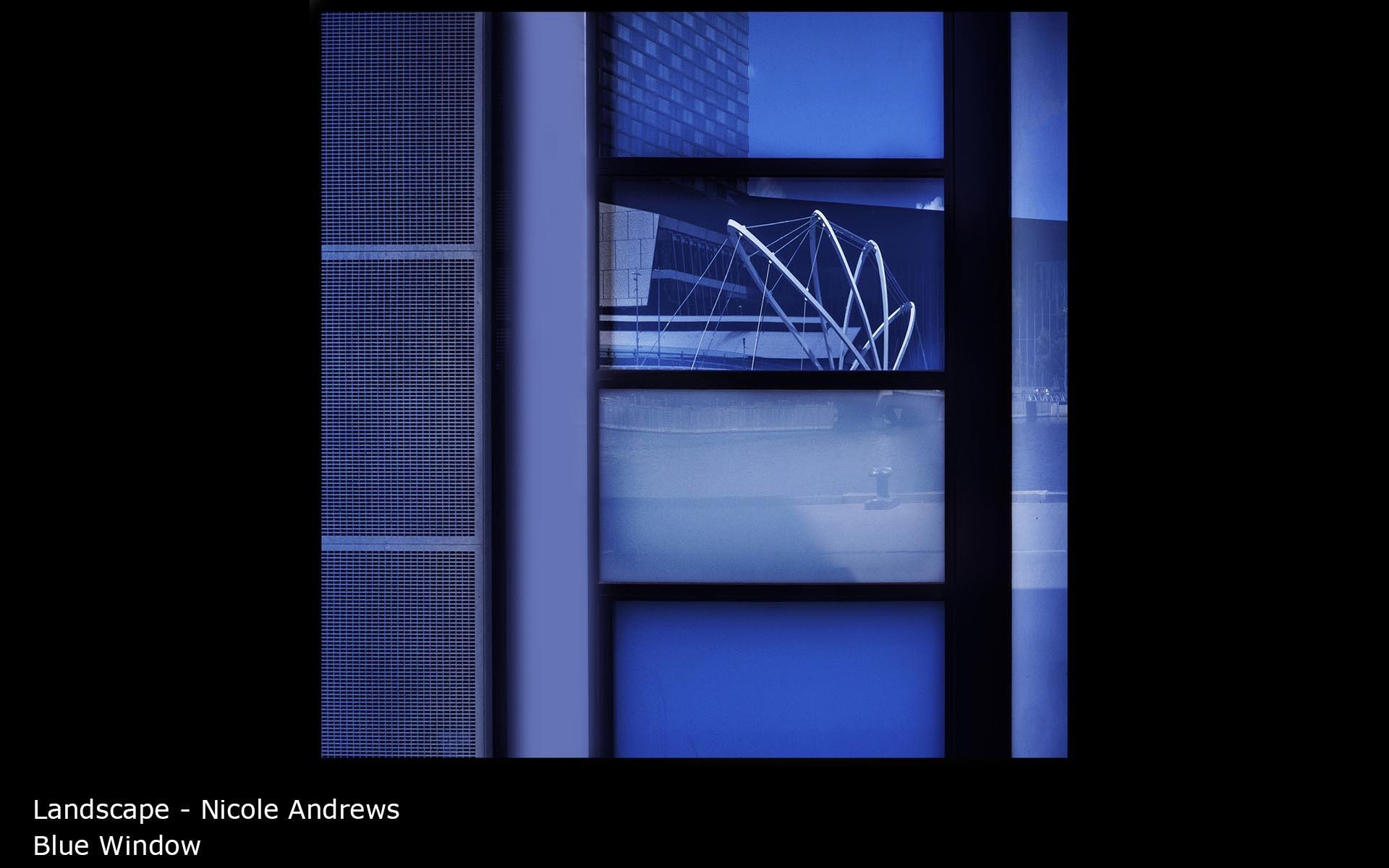 Blue Window - Nicole Andrews