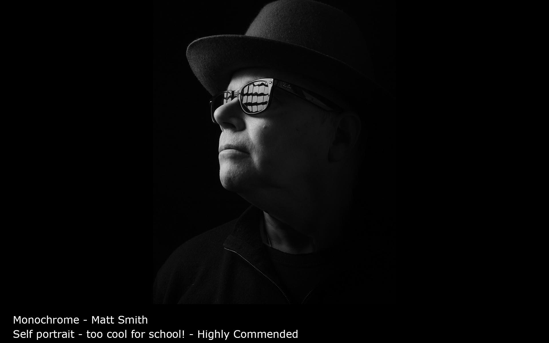 Self portrait - too cool for school! - Matt Smith