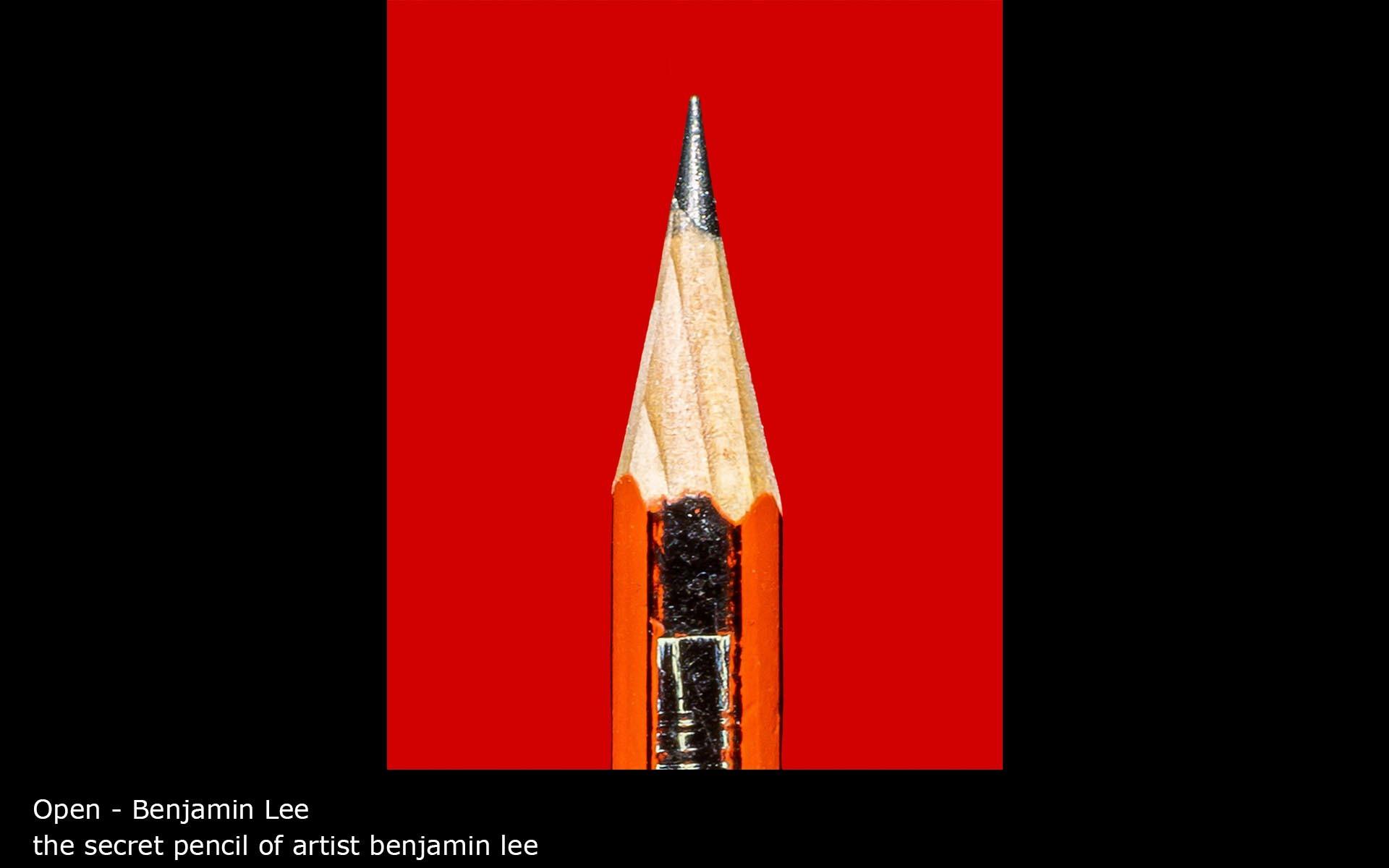 the secret pencil of artist benjamin lee - Benjamin Lee