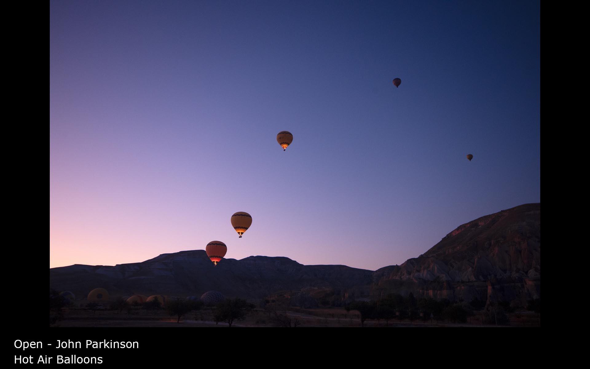 Hot Air Balloons - John Parkinson