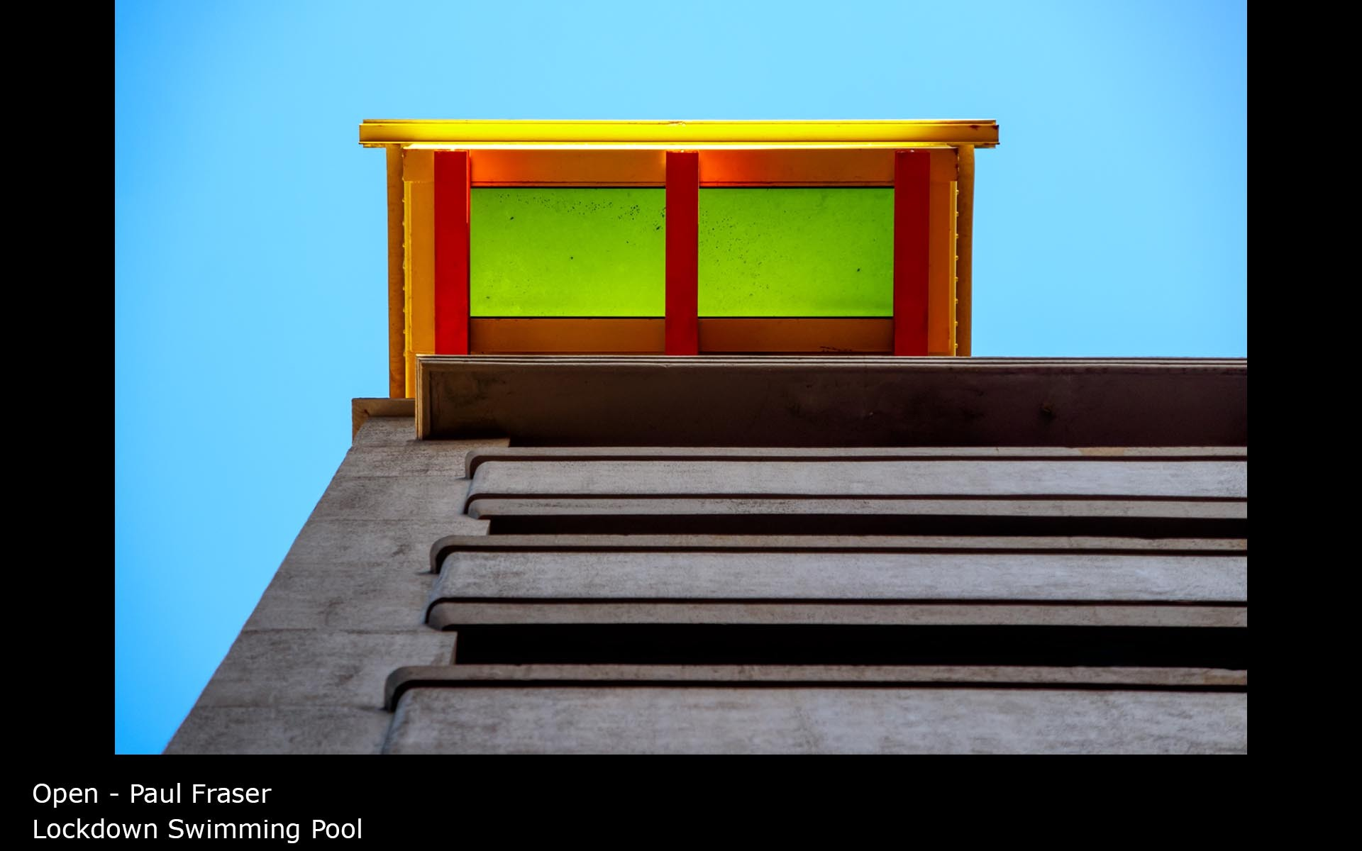 Lockdown Swimming Pool - Paul Fraser