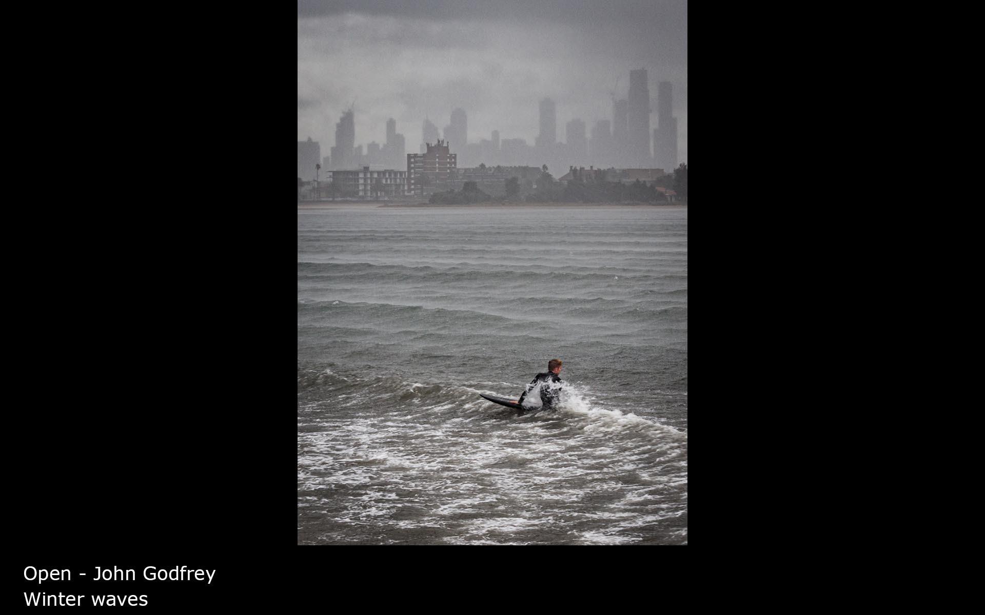 Winter waves - John Godfrey