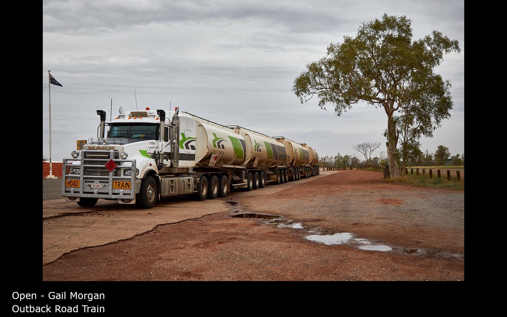 Outback Road Train - Gail Morgan