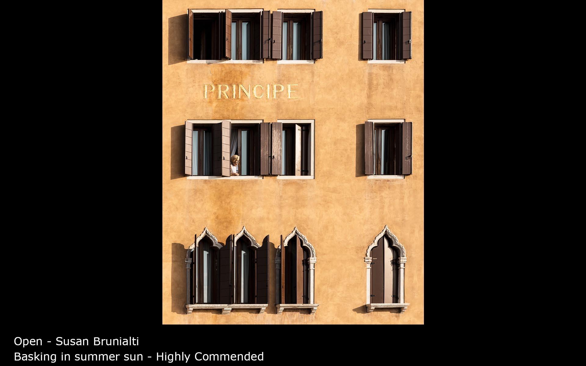Basking in summer sun - Susan Brunialti