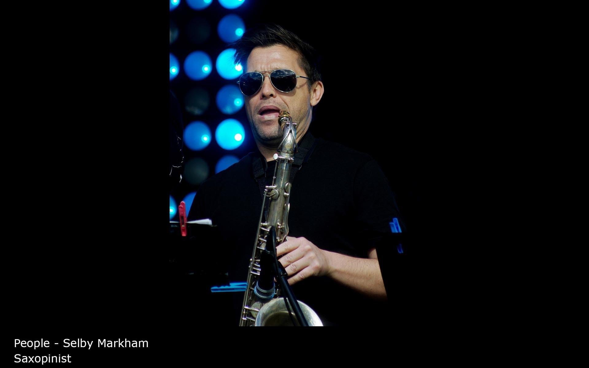 Saxopinist - Selby Markham