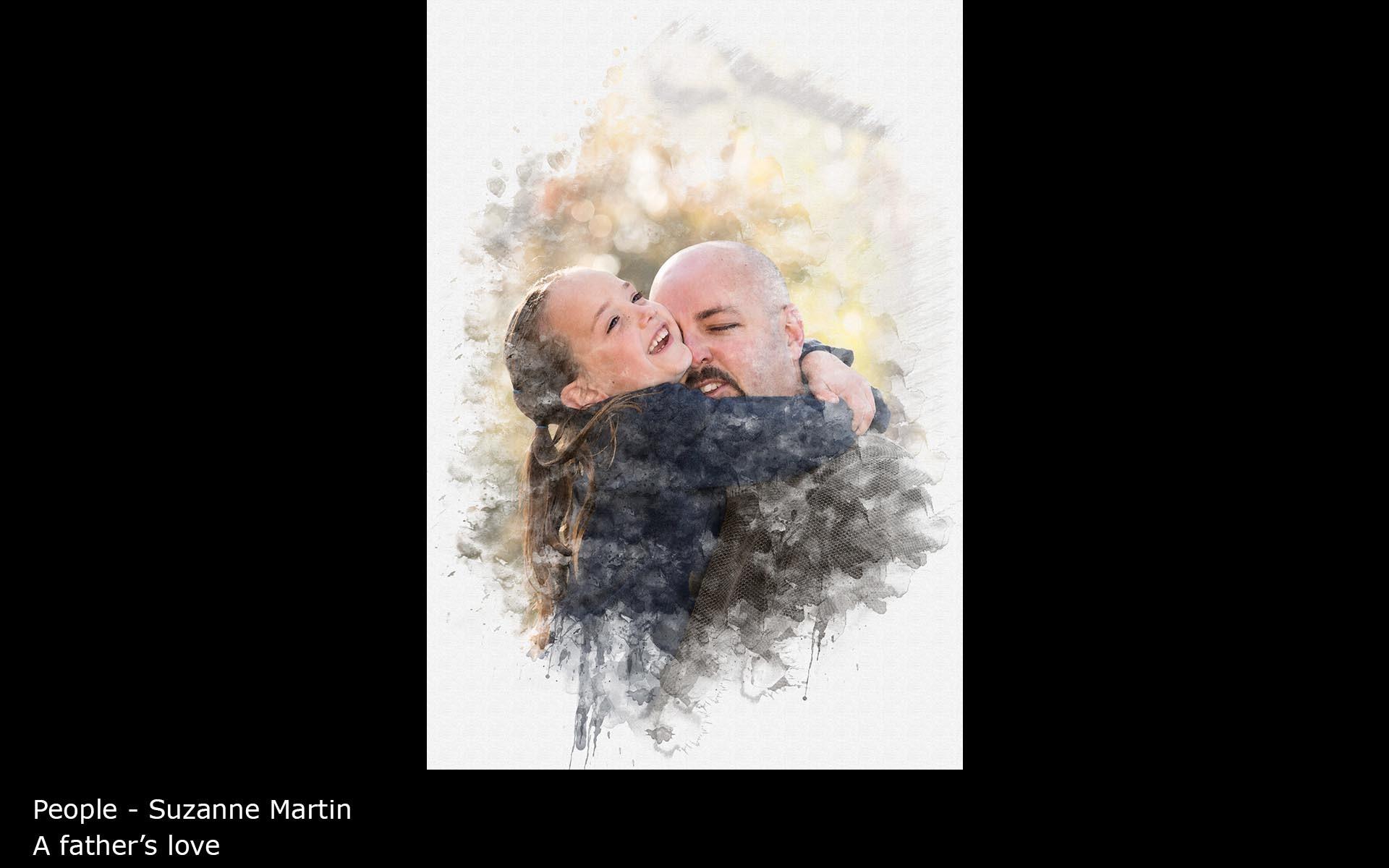 A father's love - Suzanne Martin