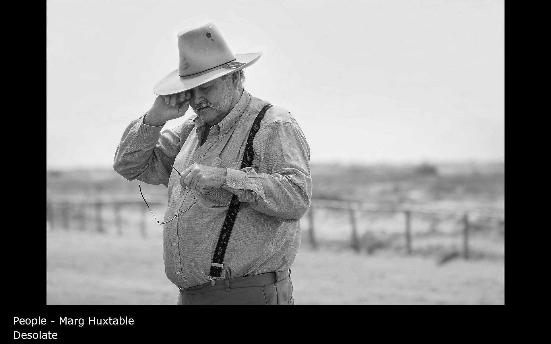 Desolate - Marg Huxtable