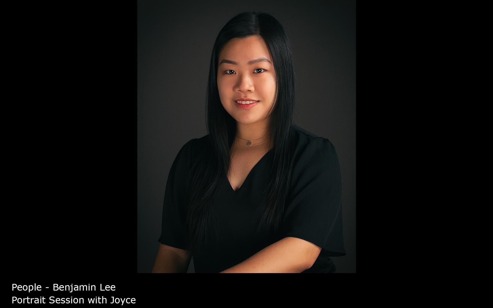 Portrait Session with Joyce - Benjamin Lee