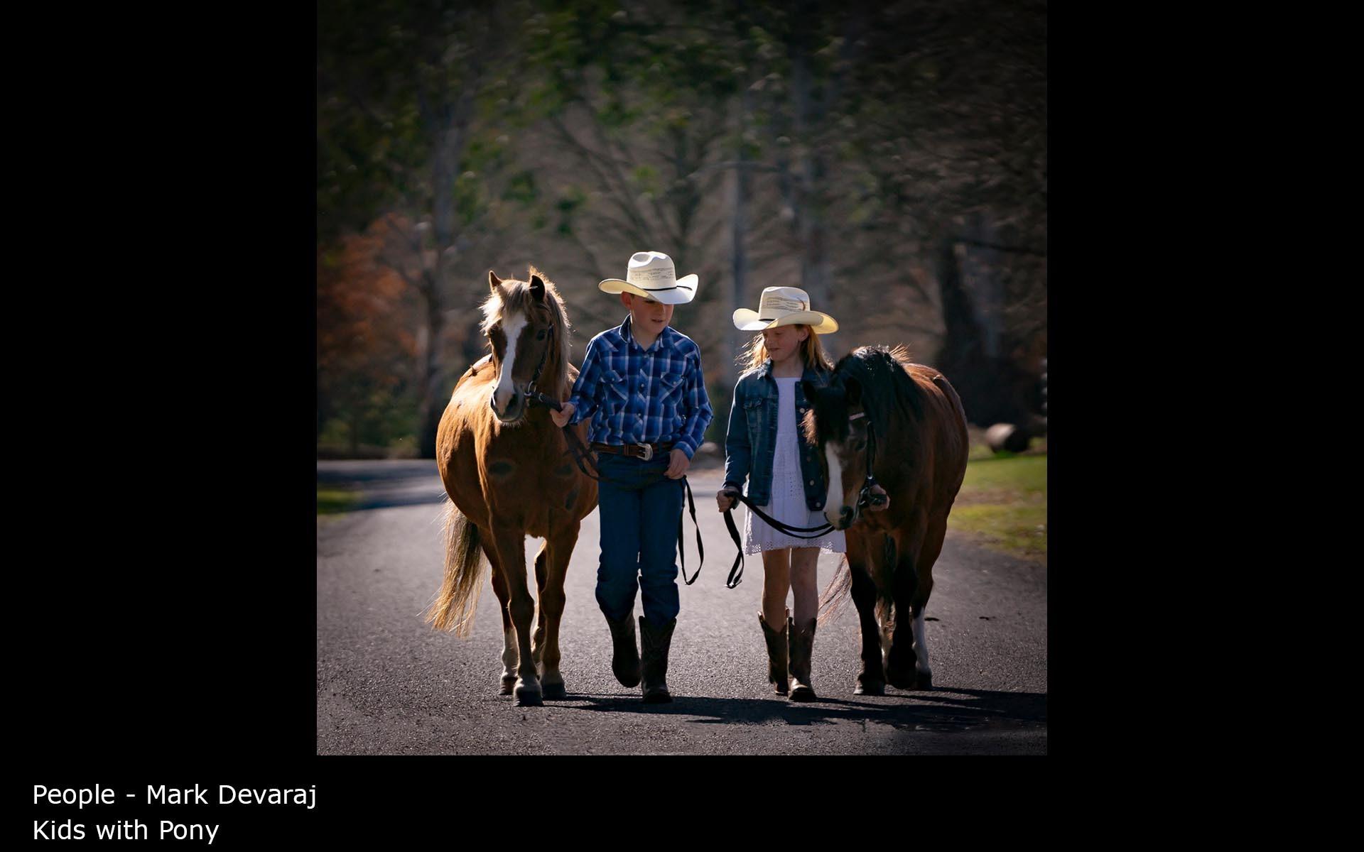 Kids with Pony - Mark Devaraj