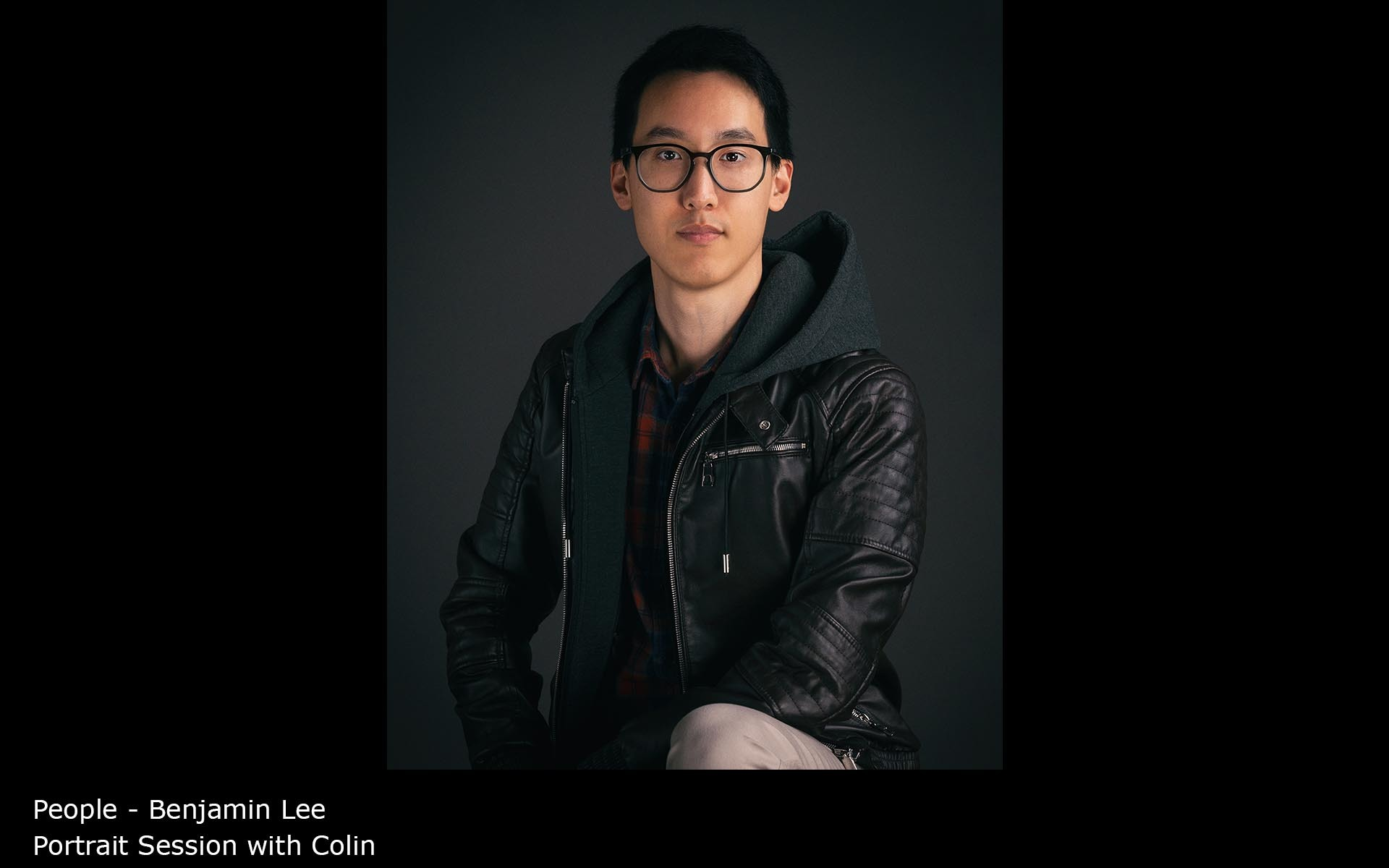 Portrait Session with Colin - Benjamin Lee