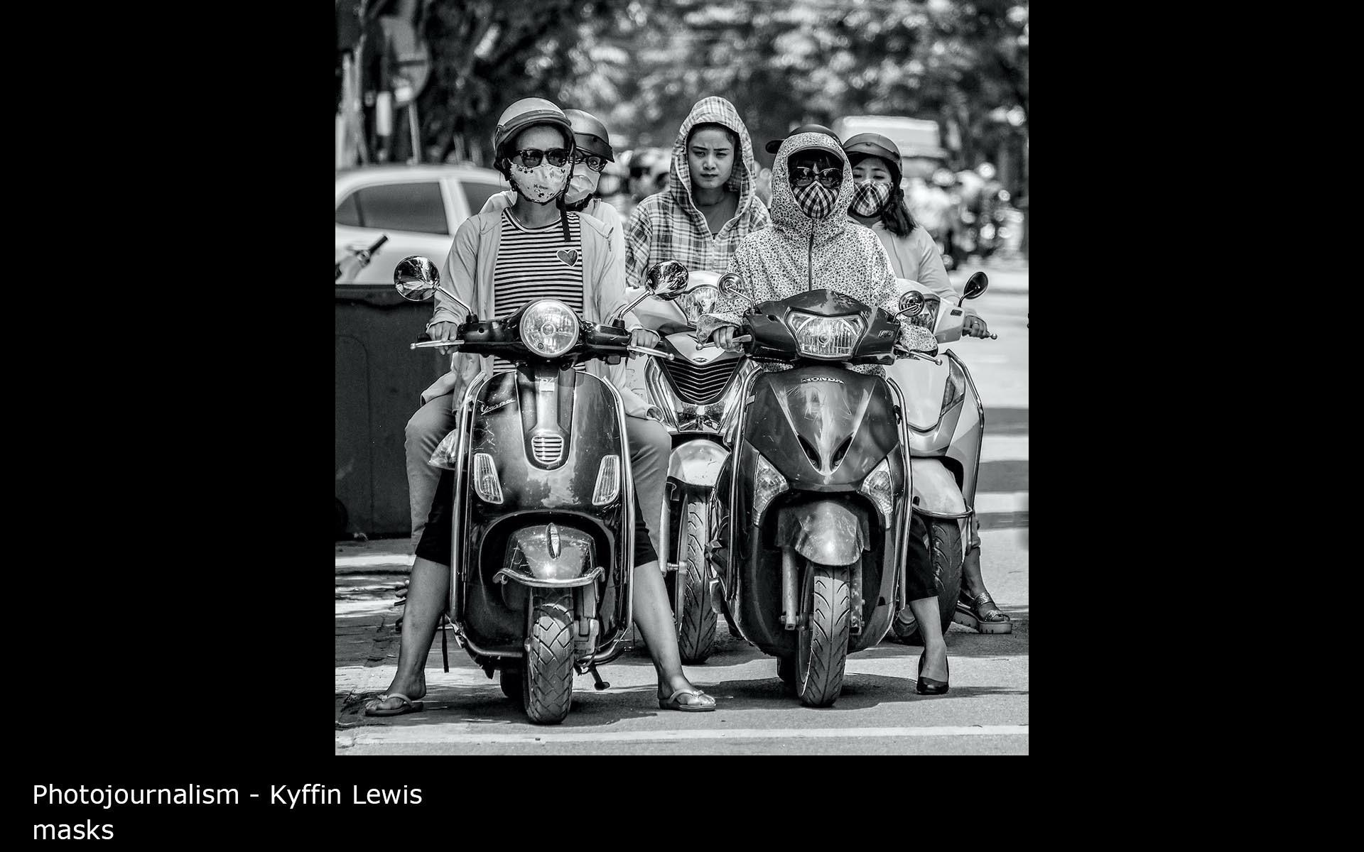 masks - Kyffin Lewis