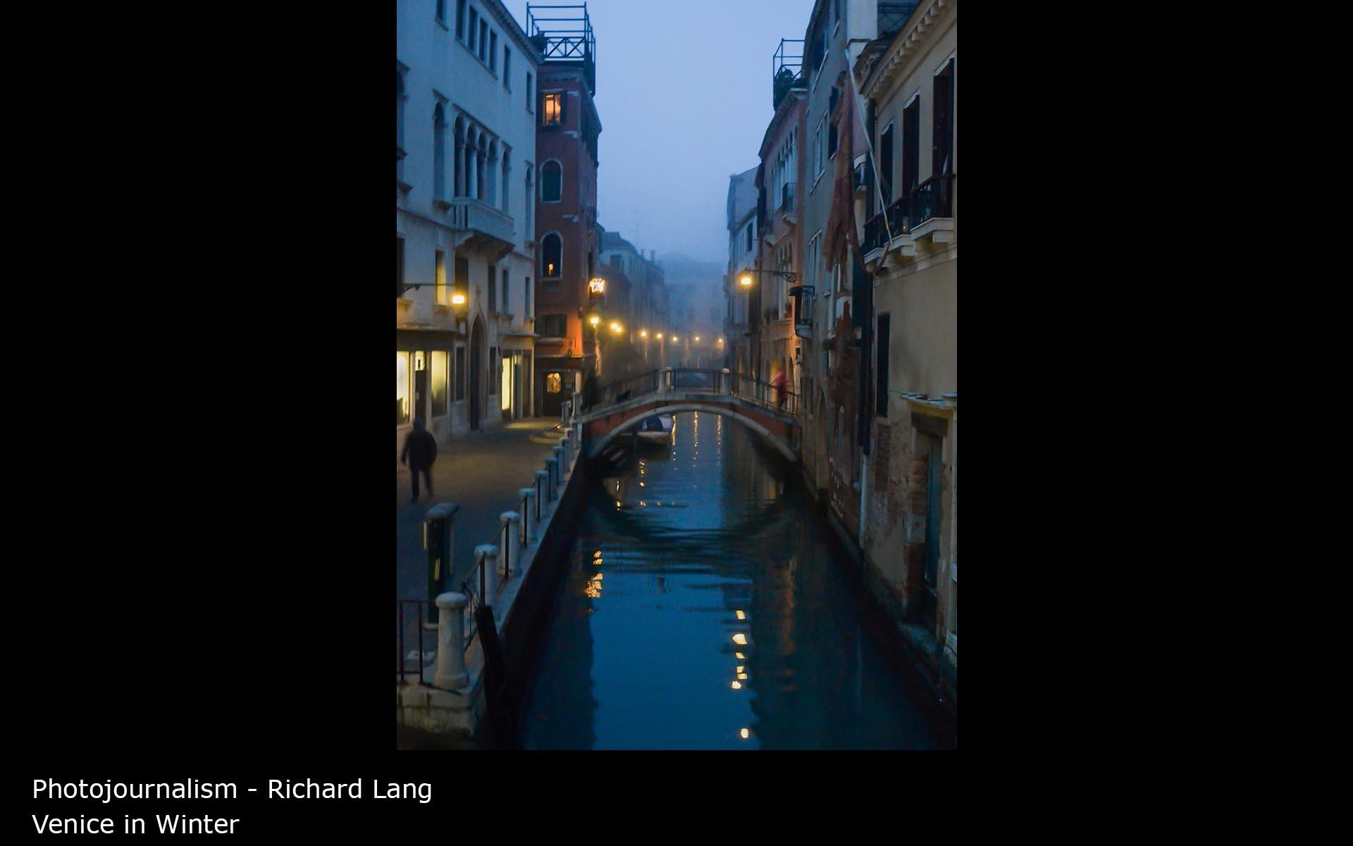 Venice in Winter - Richard Lang