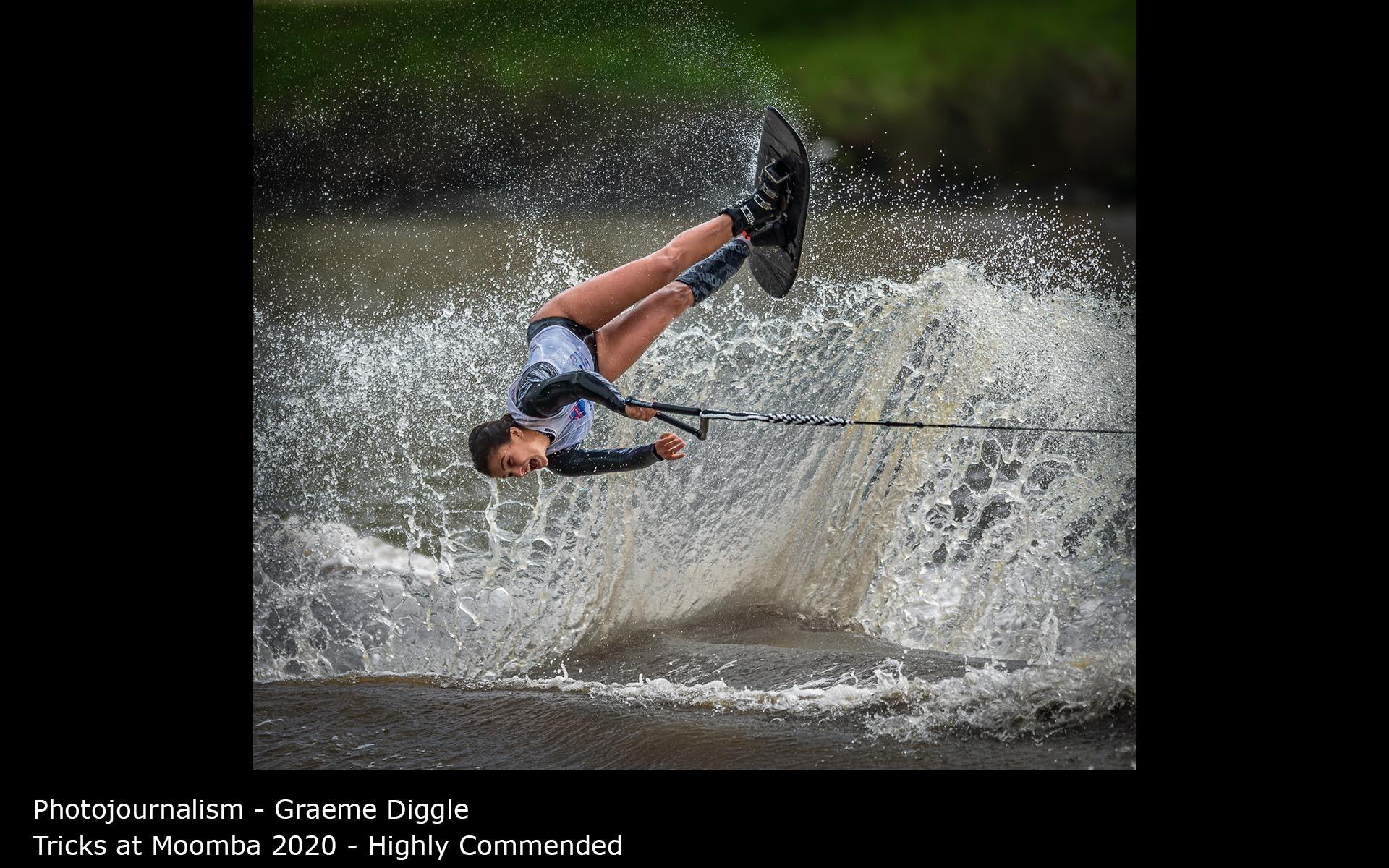 Tricks at Moomba 2020 - Graeme Diggle
