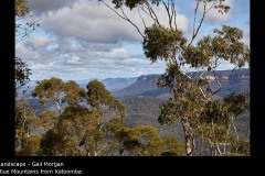 Blue Mountains from Katoomba - Gail Morgan