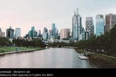 Melbourne CBD captured on Fujifilm Pro 400H - Benjamin Lee
