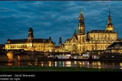 Dresden by night - David Sherwood