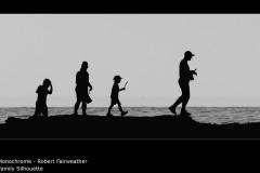 Family Silhouette - Robert Fairweather