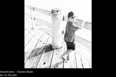 Boy on the pier  - Charles Wyatt