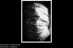 Self portrait in lockdown - Denise Lawry