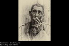 The smoking man - Charles Wyatt