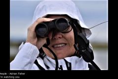 I'm watching you - Adrian Fisher