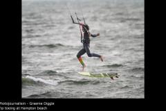 Tip toeing at Hampton beach - Graeme Diggle