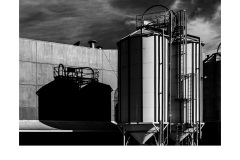 Process Tanks - Peter Black (Highly Commended - Set Subject 'Industrial' - July 2019 PDI)