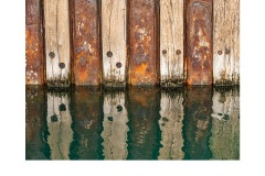 Wharf Wall Geelong - Elizabeth Jackson (Highly Commended - Set Subject - Lines - Jun 2019 PDI)