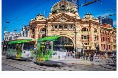 Flinders Tram - Bob Warfield (Highly Commended - Open B Grade - Oct 2019 PDI)